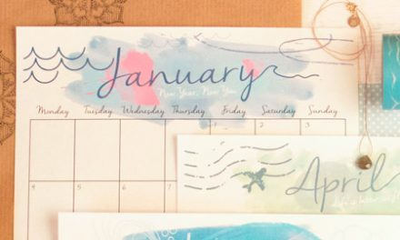 January Download SurfGirl Calendar