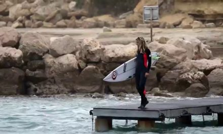 Pauline Ado Surfs the Med