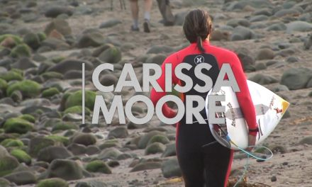 Carissa Moore Ripping at Rincon