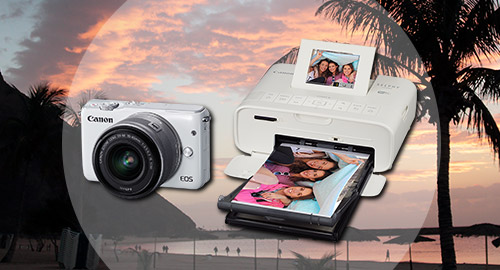 The ultimate travel camera and portable printer up for grabs!