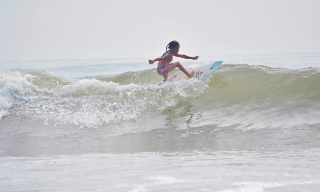 Dawn Session with 8 Year Old Sky