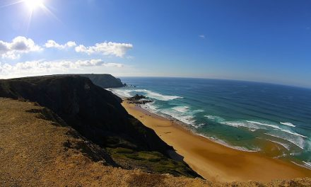Surfing in SW Portugal