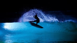 Bright Lights at the Wavegarden