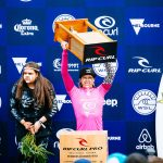 Courtney Wins at Rip Curl Pro Bells Beach