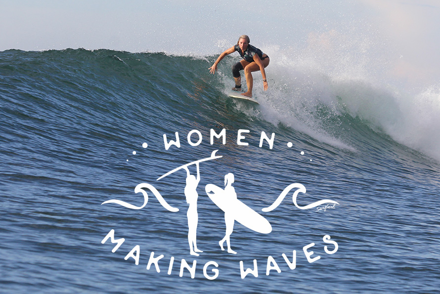 Women Making Waves: Lulu Agan