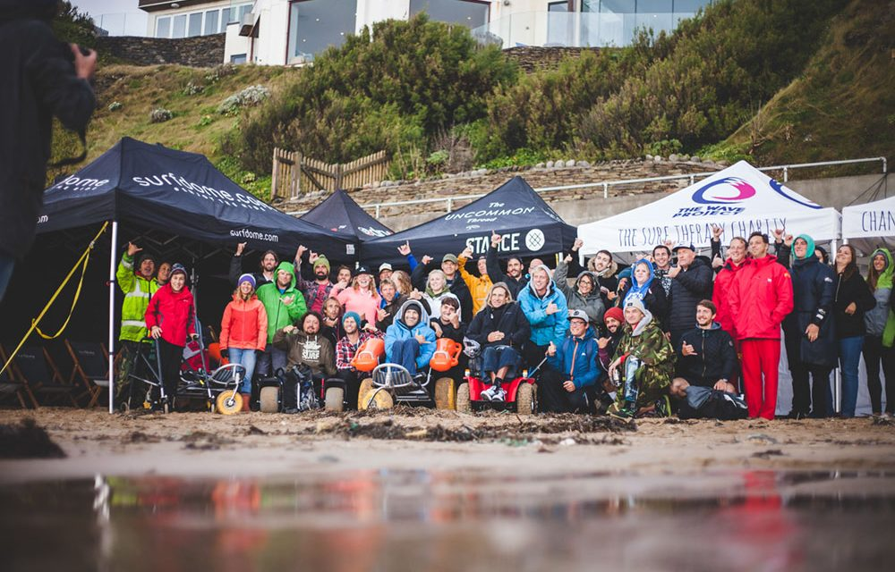 ENGLAND'S FIRST EVER ADAPTIVE SURF COMP