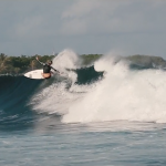 Sally Fitz in the Maldives
