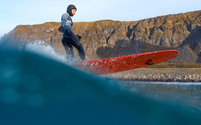 Cold Water Surfing: Roxy in Norway