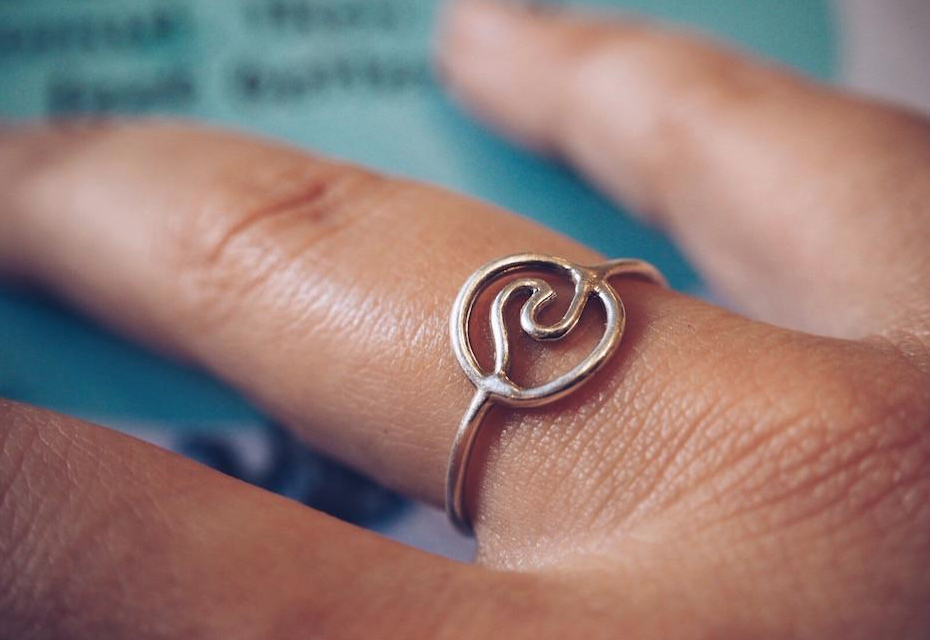 Win This Ocean Child Silver Ring