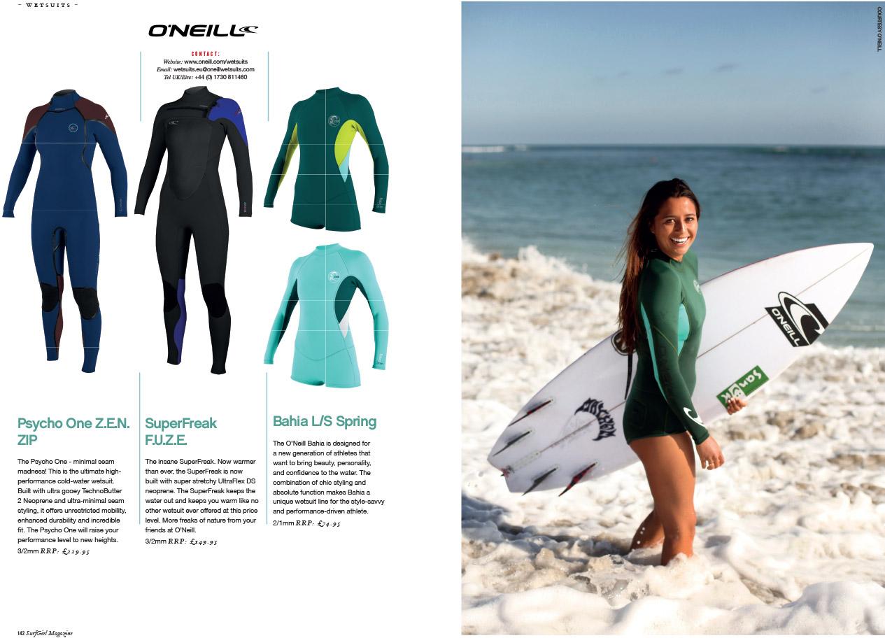 SurfGirl Magazine - Summer Wetsuit Guide