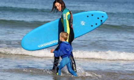 The Challenge of Surfing With Kids