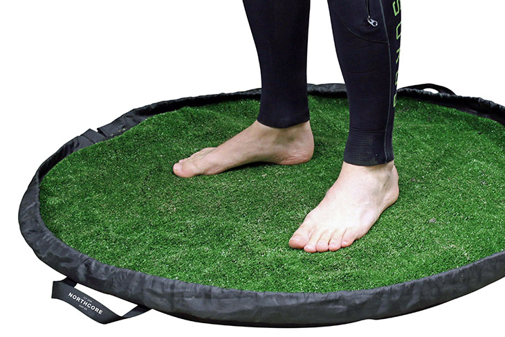 NORTHCORE launches; GRASS changing mat.