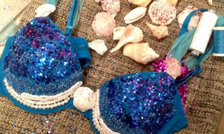 Wow DIY mermaid!
