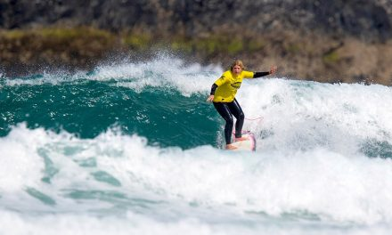 Surfing Nannie Shatters Surf Stereotypes