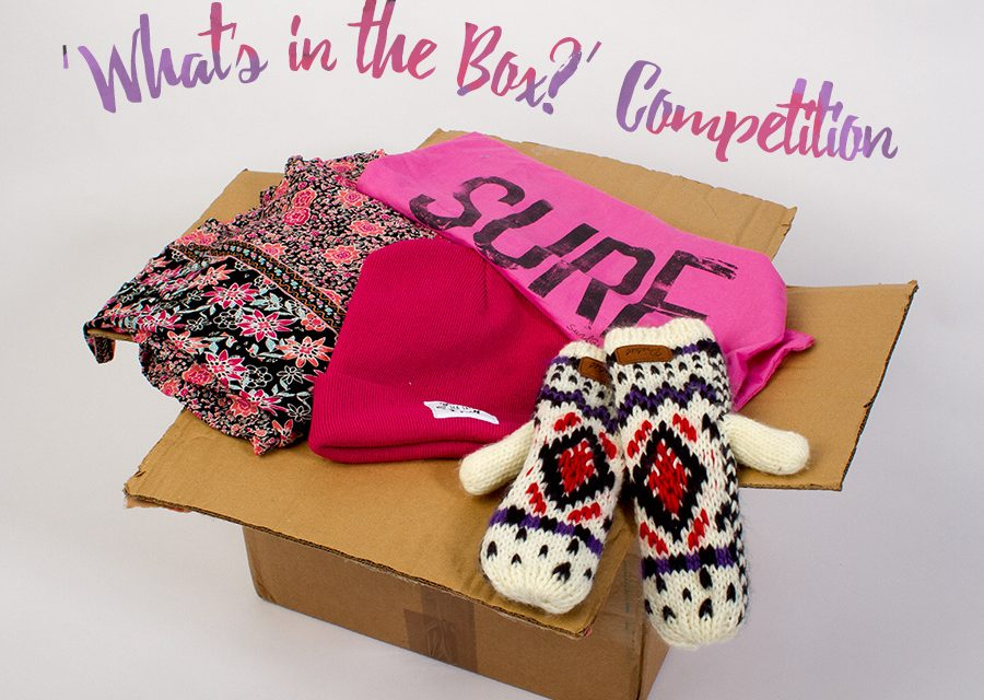 'What's in the Box?' Competition