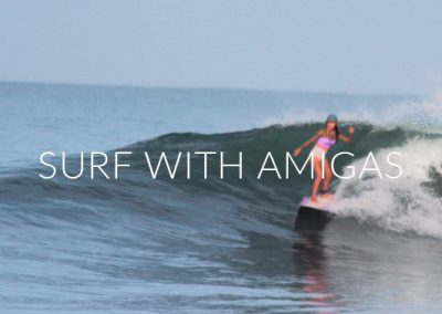 Surf with Amigas