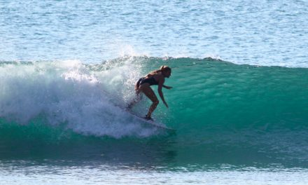 Surfing Tips with Janine