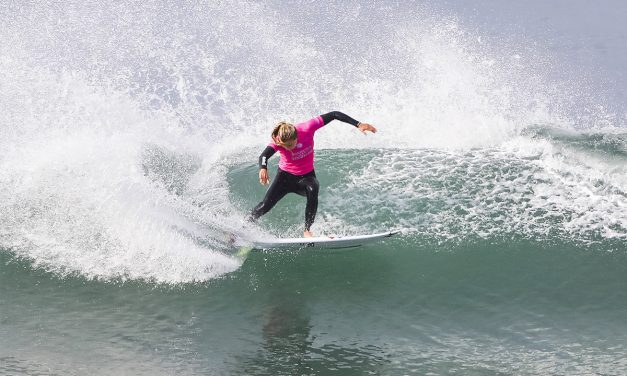 Lakey Peterson On A Roll at Swatch Pro