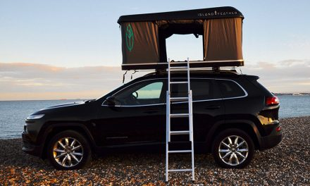 New roof top tent from Island Feather