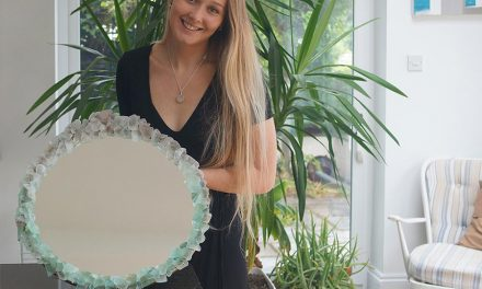 Get Creative: How to Make a Sea Mirror
