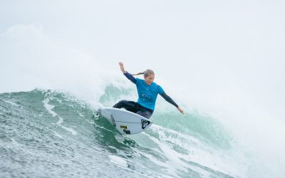 Steph Rings The Bell at the Rip Curl Pro