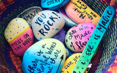 Spreading Love With Rocks and Pebbles