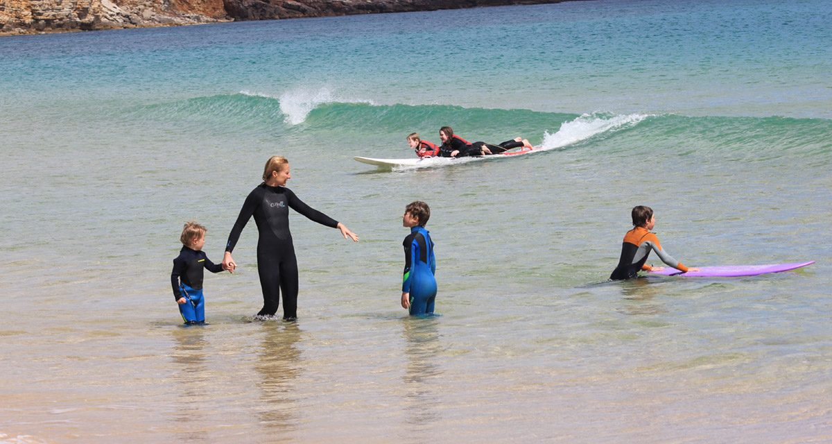 Portugal on a family surf trip