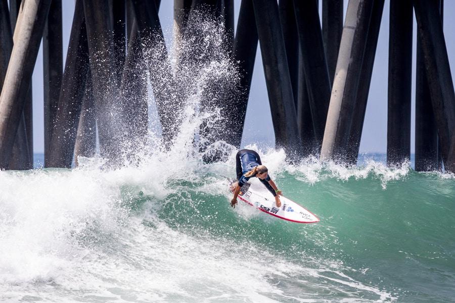 Sage Erickson Wins At Vans US Open Of Surfing