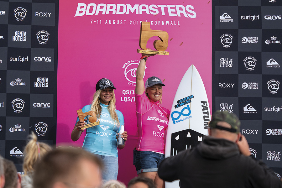 Boardmasters Crowns 2019 Surfing Winners