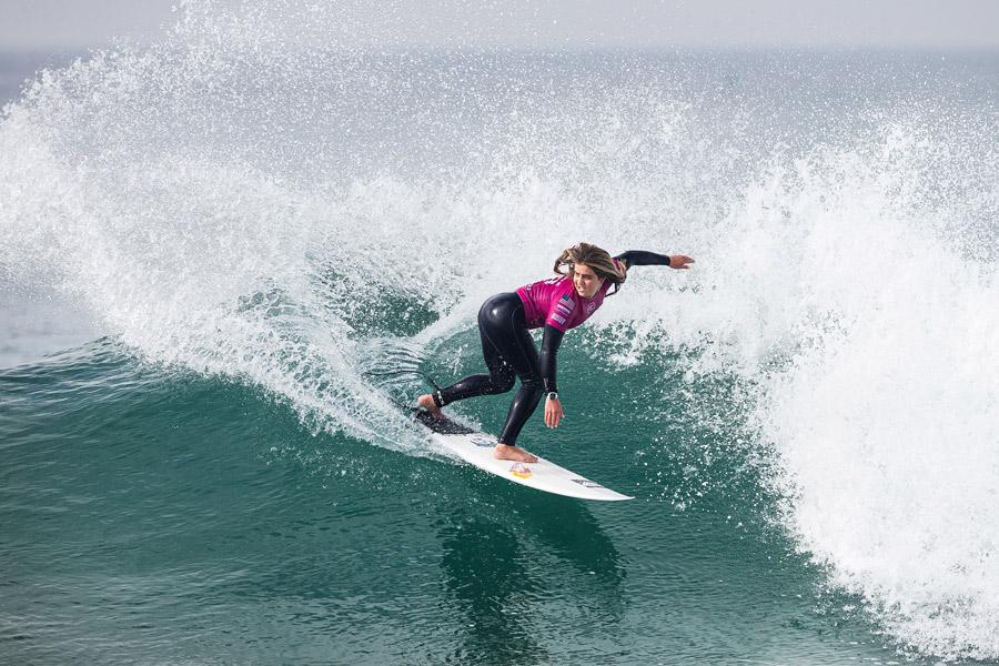 Caroline Marks Wins Rip Curl Pro Portugal