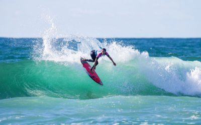 Seeding rounds of Roxy Pro France complete