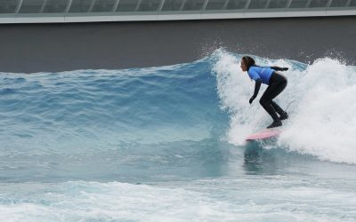 SurfGirl at The Wave, Bristol