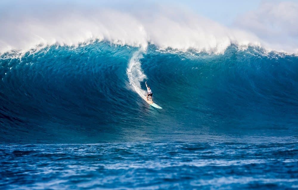 Paige Alms Wins Jaws Big Wave Champs