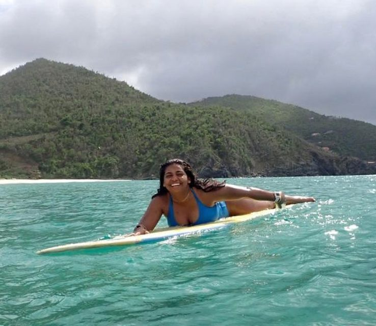 Tiara Jones – Enjoying the Waves