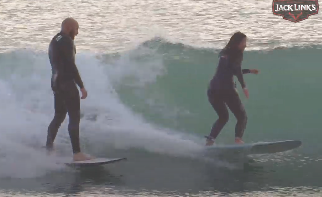 Surfing and Gender Equality: The Drop In