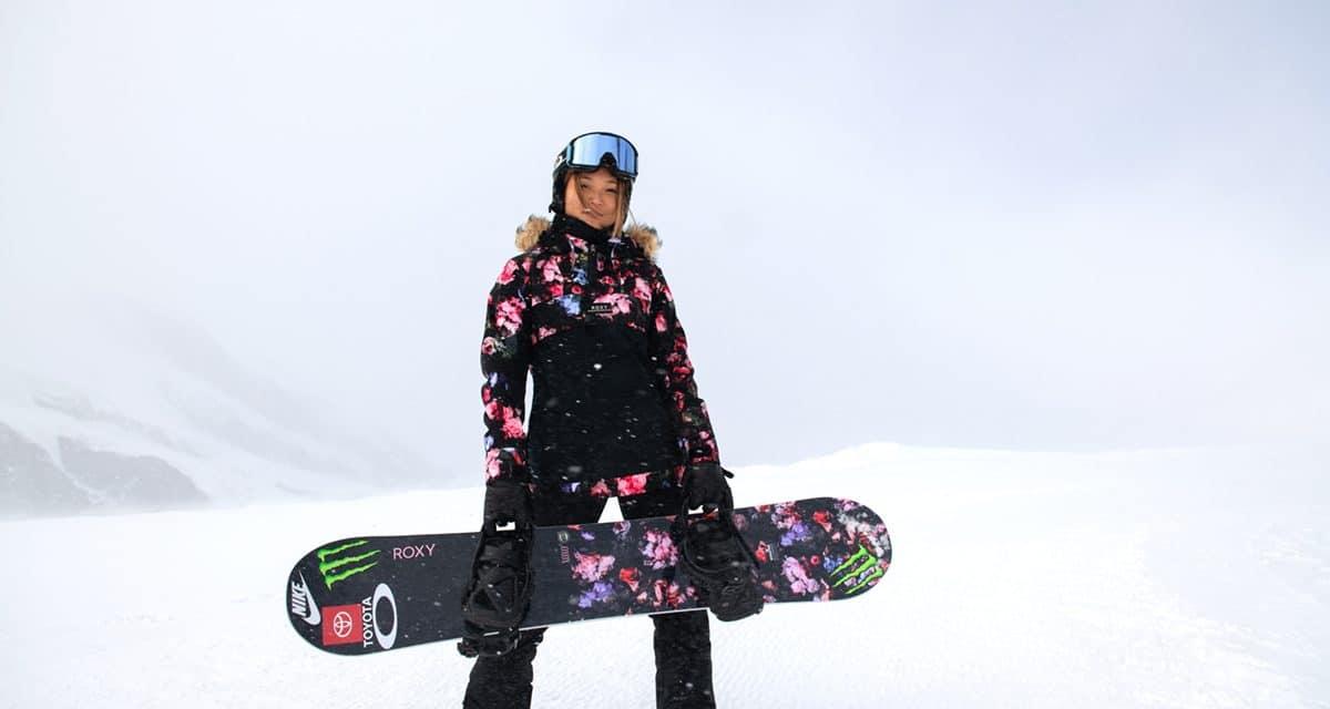 Olympic Champ Chloe Kim joins Roxy Snow