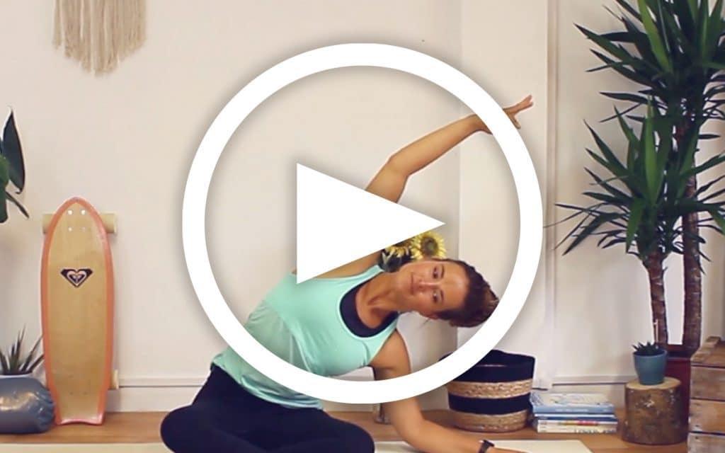 Back Neck & Shoulder Yoga Session