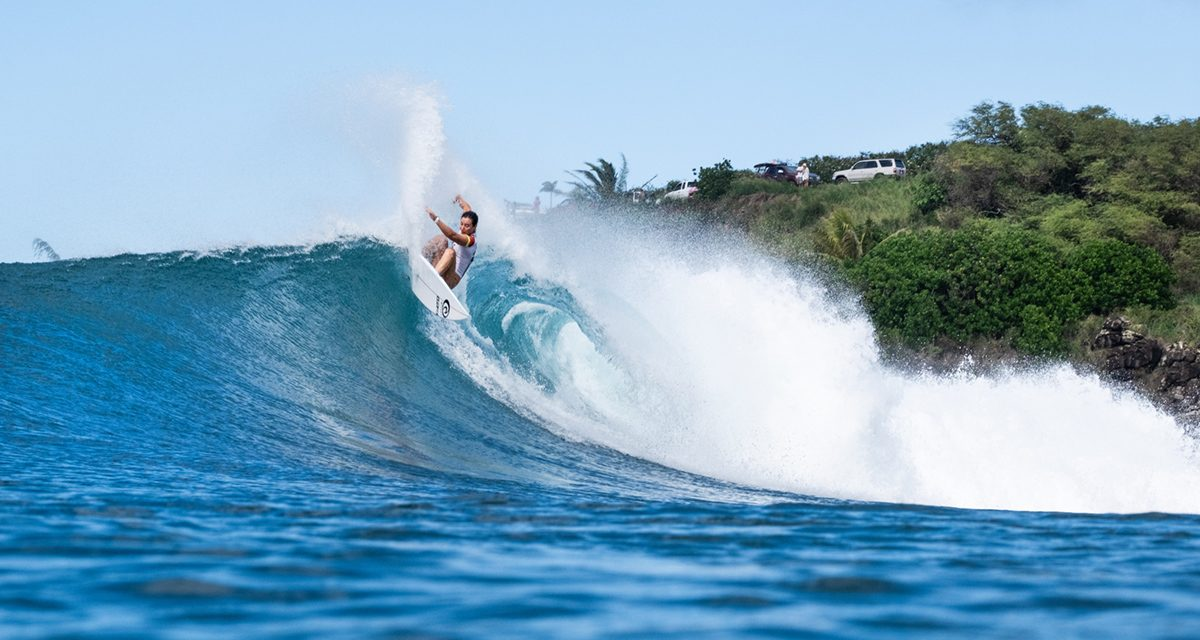 Blazing Action on First Day of Maui Pro