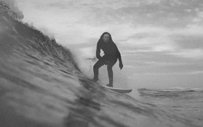 Blue Medicine Coldwater Surfing Scottish Style