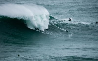 """Michelle des Bouillons: first woman to surf the Azore's """"big wave"""""""