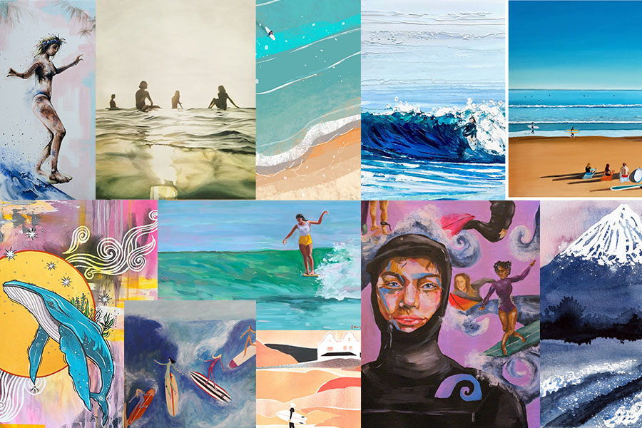 SurfGirl Art Competition: The Finalists