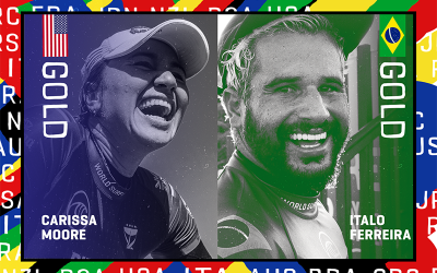 Carissa & Italo Earn Historic First Olympic Gold Medals
