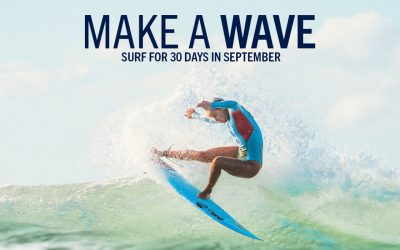 Surf 30 Days in September with SurfAid