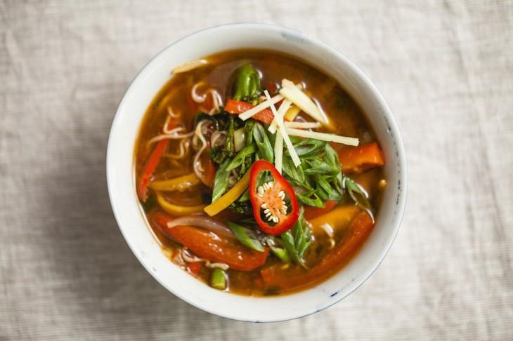 Big Phat Veggie Noodle Soup