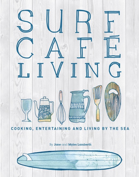 The beautiful Surf café Living Cookbook is up for grabs!
